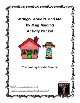 Mango, Abuela, and Me Activity Pack