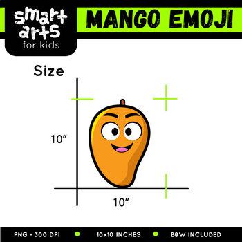 Mango Emoji Clip Art