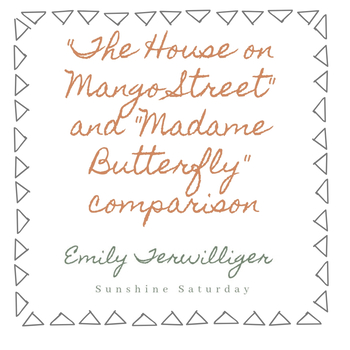 Mango Street and Madame Butterfly Allusion Worksheet