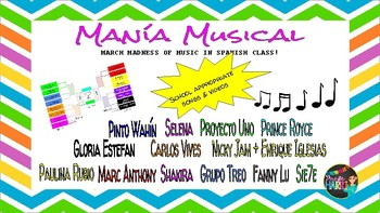 Manía Musical aka March Madness of Latin Music