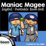 Maniac Magee Novel Study: Digital + Printable Book Unit [Jerry Spinelli]