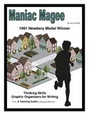 Maniac Magee     Thinking Skills and Graphic Organizers for Writing