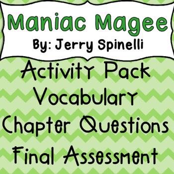 Maniac Magee Novel Guide