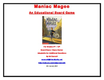 Maniac Magee Board Game