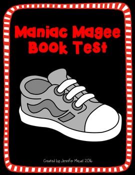 Maniac Magee Book Test