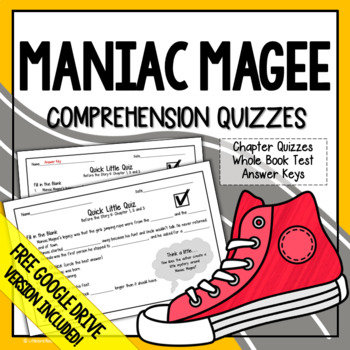 Maniac Magee Chapter Questions and Test