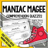 Maniac Magee Chapter Quizzes