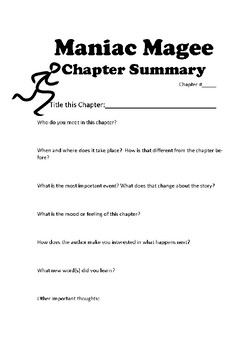 Maniac Magee Chapter Summary