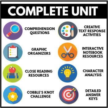 Maniac Magee Novel Study Unit -  Common Core Questions, Projects, Activities