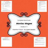 Maniac Magee Complete Novel Unit