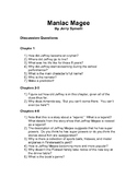 Maniac Magee Discussion Questions