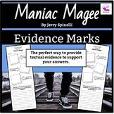 Maniac Magee:  Evidence Marks