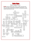 Maniac Magee: Figurative Language Crossword—Creative!