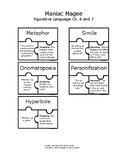 Maniac Magee Figurative Language Puzzles Ch. 6-7