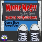 Maniac Magee Game Show PowerPoint