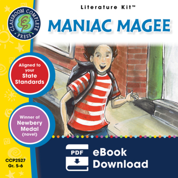 Maniac Magee - Literature Kit Gr. 5-6