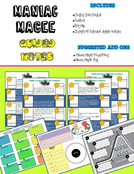 Maniac Magee - Guided Notes