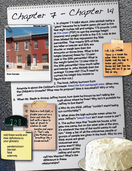 Maniac Magee Interactive Book Project