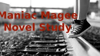 Maniac Magee Interactive Novel Study