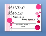 Maniac Magee Interactive PowerPoint Student Journal