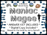 Maniac Magee (Jerry Spinelli) Novel Study / Reading Comprehension