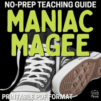 Maniac Magee Complete Teacher Unit - Handouts, Tests, Teacher Guide