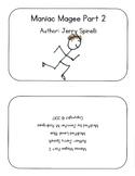 Maniac Magee Modified Book (Kindergarten Level) Part 2 of 12