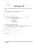 Maniac Magee Modified Test