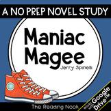 Maniac Magee Novel Study | Distance Learning | Google Classroom™