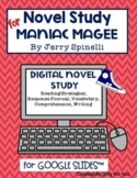 Maniac Magee Novel Study: Digital Distance Learning Resour