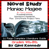 Maniac Magee Novel Study & Enrichment Project Menu