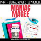 Maniac Magee Book Unit: Print & Digital Novel Activities