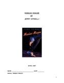 Maniac Magee Novel Unit