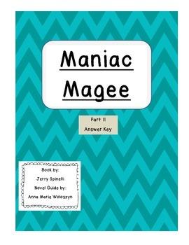 Maniac Magee Part II Answer Key
