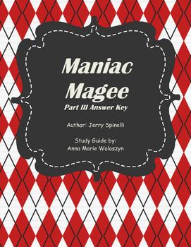 Maniac Magee Part III Answer Key