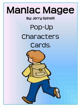 Maniac Magee Pop-up Characters