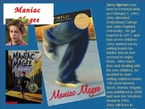 Maniac Magee Power Point Novel Study Pre-Reading Activity