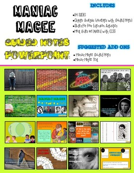 Maniac Magee - PowerPoint