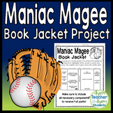 Maniac Magee Project: Create a Book Jacket: Maniac Magee Book Report Activity