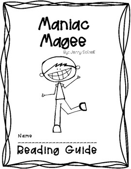 Maniac Magee Readers Journal & Project