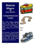 Maniac Magee Novel Study Unit Bundle