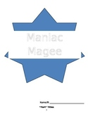 Maniac Magee Reading Comprehension Pack & Final Project