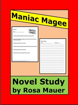 Maniac Magee Reading Comprehension Questions
