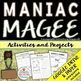 Maniac Magee: Reading Response Activities and Projects