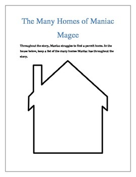 Maniac Magee Reading Strategies Guide