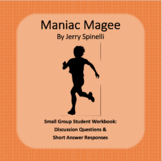 Maniac Magee Literature Circle Workbook
