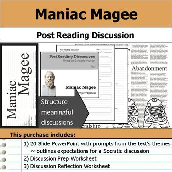 Maniac Magee - Socratic Method - Post Reading Discussions