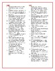 Maniac Magee: Synonym/Antonym Vocab Crossword--Use with Bo