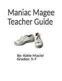 Maniac Magee Teacher Guide and Student Materials