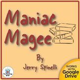 Maniac Magee Teaching Novel Study CD